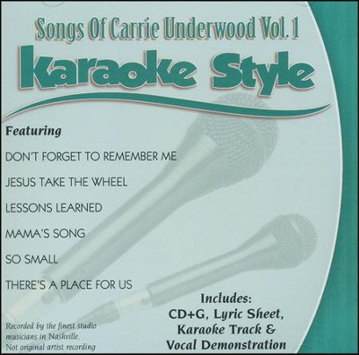 Carrie Underwood Karaoke   -