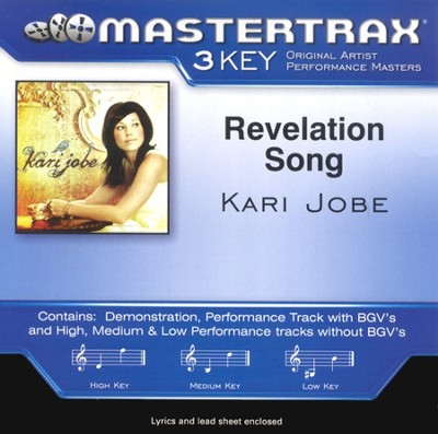 Revelation Song, Accompaniment CD   -     By: Kari Jobe