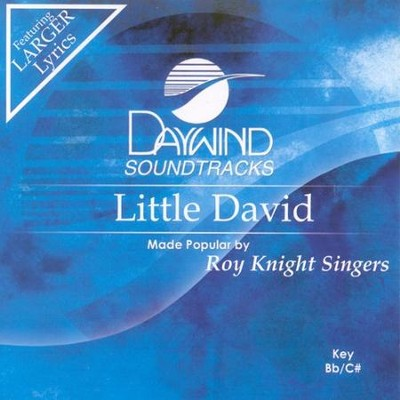 Little David, Accompaniment CD   -     By: Roy Knight Singers