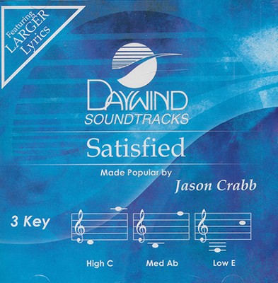 Satisfied Acc, CD  -     By: Jason Crabb