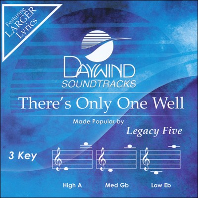There's Only One Well Acc, CD  -     By: The Legacy Five