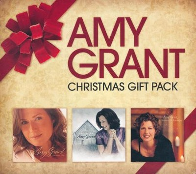 Amy Grant 3 CD Christmas Gift Pack   -     By: Amy Grant