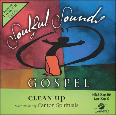 Clean Up Acc, CD  -     By: The Canton Spirituals