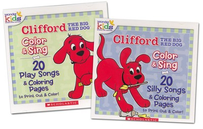 Clifford Color and Sing on 2 CD's   -     By: Wonder Kids