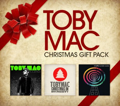 TobyMac 3 CD Christmas Gift Pack   -     By: TobyMac