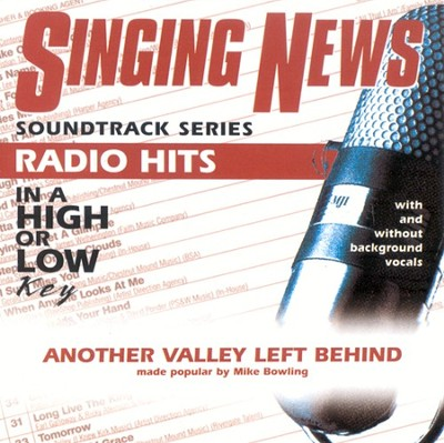 Another Valley Left Behind, Accompaniment CD   -     By: Mike Bowling