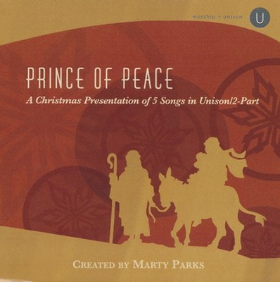 Prince Of Peace, Stereo CD  -     By: Marty Parks