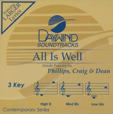 All Is Well Acc, CD  -     By: Phillips Craig & Dean