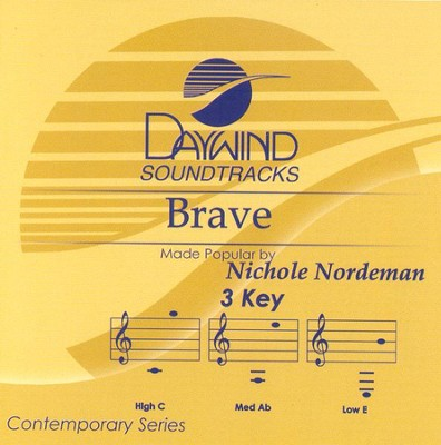 Brave, Accompaniment CD   -     By: Nichole Nordeman