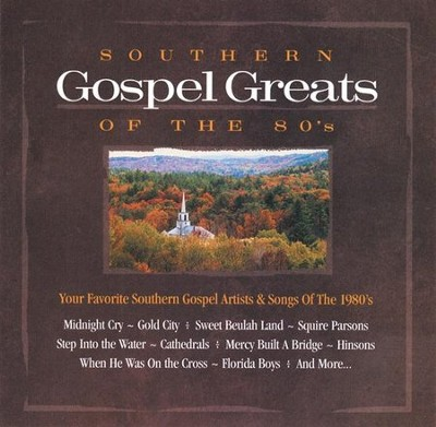 Southern Gospel Greats of the 80's CD   -     By: Various Artists