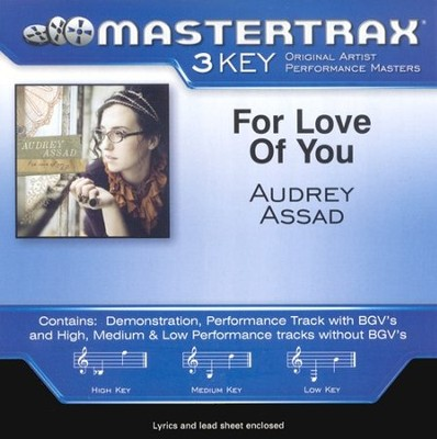 For Love Of You, Accompaniment CD   -     By: Audrey Assad