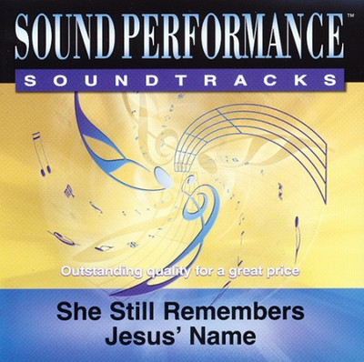 She Still Remembers Jesus' Name Acc, CD  -     By: The Booth Brothers