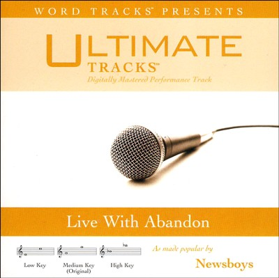 Live With Abandon Acc, CD  -     By: Newsboys