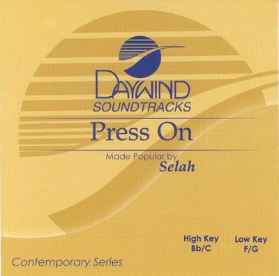Press On, Accompaniment CD   -     By: Selah