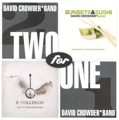 Sunsets & Sushi/B Collision CD   -     By: David Crowder Band