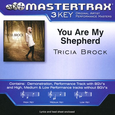 You Are My Shepherd, Acc CD   -     By: Tricia Brock