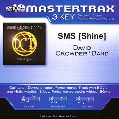 Shine, Acc CD   -     By: David Crowder Band