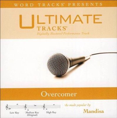 Overcomer (Medium Key Performance Track With Background Vocals)  [Music Download] -