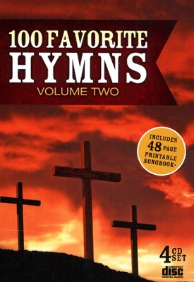 100 Favorite Hymns, Volume Two (4 CD's)   -