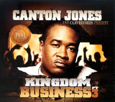 Kingdom Business Pt. 3 CD     -     By: Canton Jones