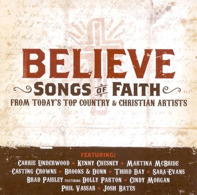 Believe: Songs of Faith CD   -     By: Various Artists