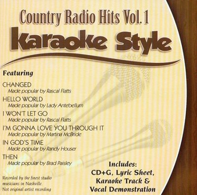 Country Radio Hits Volume 1, Karaoke Style CD   -     By: Various Artists