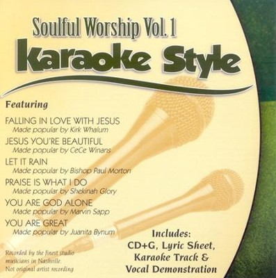 Soulful Worship, Volume 1, Karaoke Style CD   -     By: Various Artists