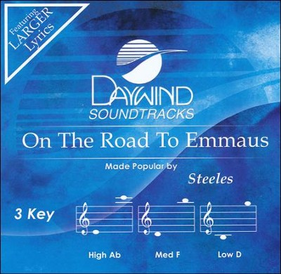 On The Road To Emmaus Acc, CD  -     By: The Steeles