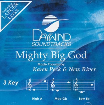 Mighty Big God Acc, CD  -     By: Karen Peck