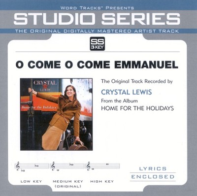 O Come O Come Emmanuel, Accompaniment CD   -     By: Crystal Lewis
