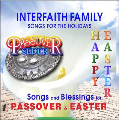 Interfaith Family Songs for the Holidays: Passover-Easter, Music CD  -     By: David & The High Spirit