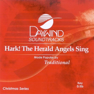 Hark, The Herald Angels Sing, Accompaniment CD   -