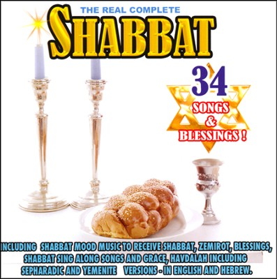 The Real Complete Shabbat, Music CD  -     By: David & The High Spirit