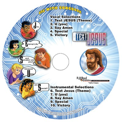 Text Jesus Music CD   -