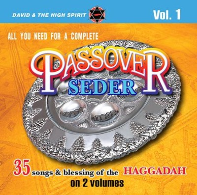 Complete Passover Seder Music Volume 1 CD  -     By: David & The High Spirit