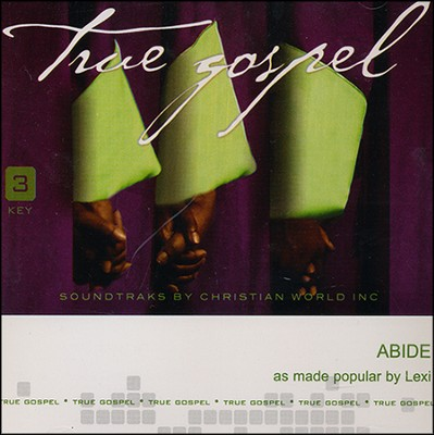 Abide Acc, CD  -     By: Lexi