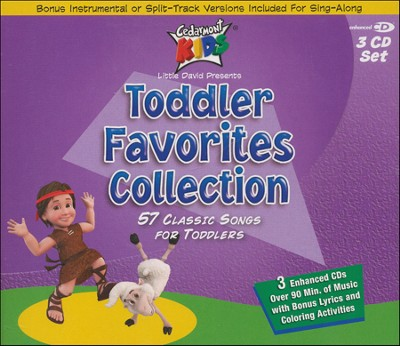 Toddler Favorites 3 CD Collection   -     By: Cedarmont Kids