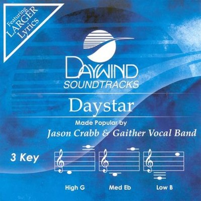 Daystar, Accompaniment CD   -     By: Jason Crabb