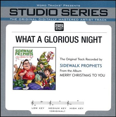 What A Glorious Night  [Music Download] -     By: Sidewalk Prophets