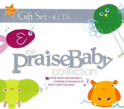 The Praise Baby Collection, 4 CD Set   -