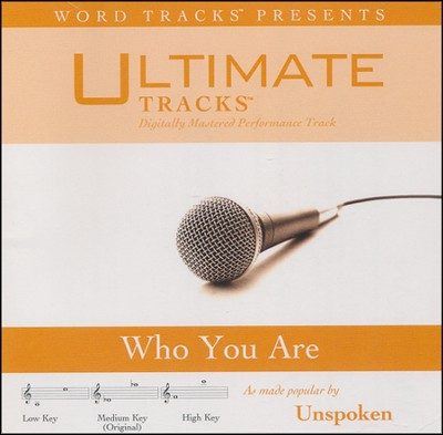 Who You Are Acc, CD  -     By: Unspoken