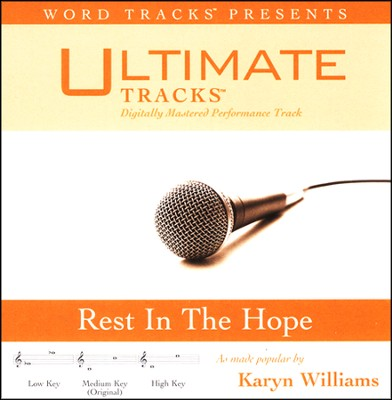 Rest In the Hope Acc, CD  -     By: Karyn Williams