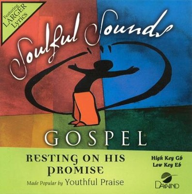 Resting On His Promise, Accompaniment CD   -     By: Youthful Praise
