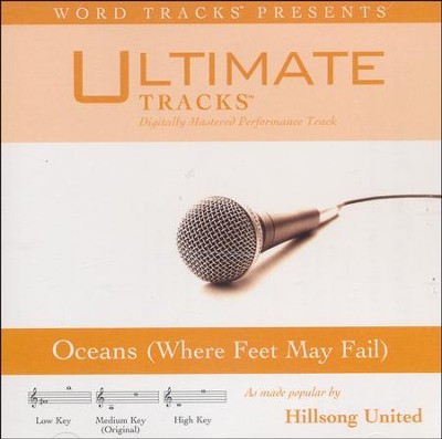 Oceans (Where Feet May Fail) (Medium Key Performance Track with Background Vocals)  [Music Download] -