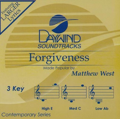 Forgiveness   -     By: Matthew West