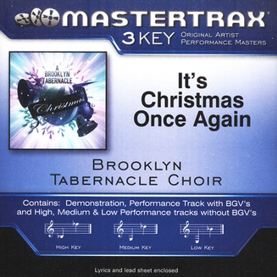 It's Christmas Once Again, Acc CD   -     By: The Brooklyn Tabernacle Choir, Nicole Binion