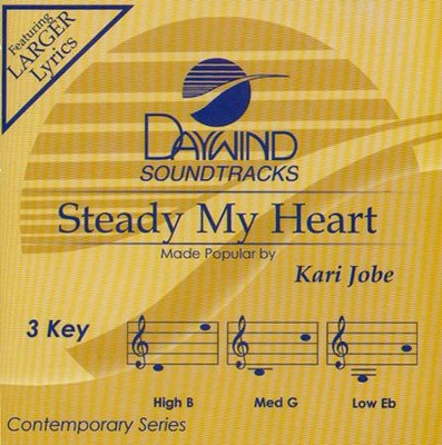 Steady My Heart Acc, CD  -     By: Kari Jobe