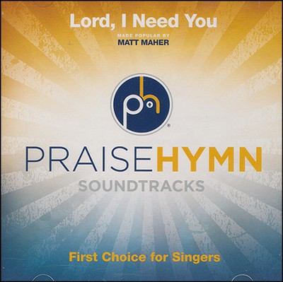 Lord, I Need You Acc, CD  -     By: Matt Maher