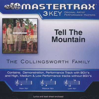 Tell The Mountain, Acc CD    -     By: The Collingsworth Family