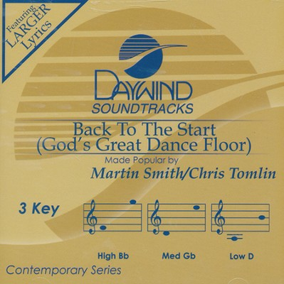 Back to the Start (God's Great Dance Floor) Acc, CD  -     By: Martin Smith, Chris Tomlin